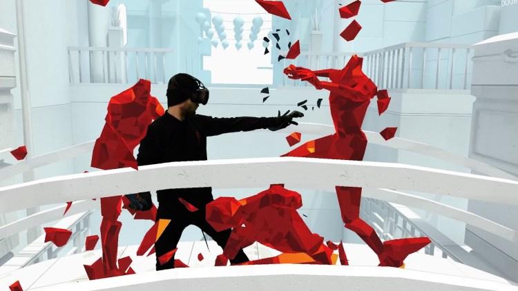 tir superhot jeu en réalité virtuelle VR VGB EVENT Lyon Rhône-Alpes Paris France teambuilding seminaire anniversaire