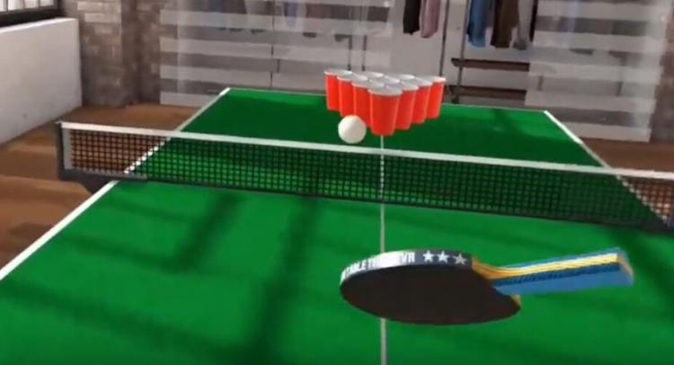 beer pong realite virtuelle vgb event exprience 360 LYon Rhone Alpes France