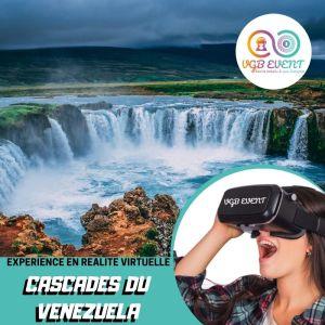 Cascade expériences en réalité virtuelle VGB EVENT Lyon Rhone alpes France