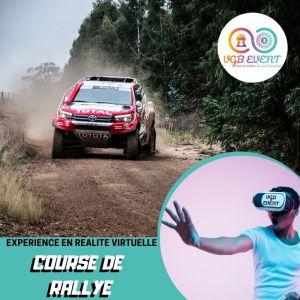 course de rallye expériences en réalité virtuelle VGB EVENT Lyon Rhone alpes France
