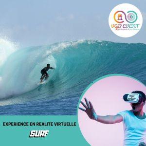 surf expériences en réalité virtuelle VGB EVENT Lyon Rhone alpes France