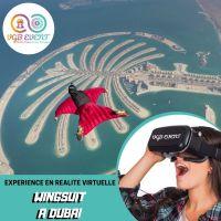 wingsuit à dubai expériences en réalité virtuelle VGB EVENT Lyon Rhone alpes France