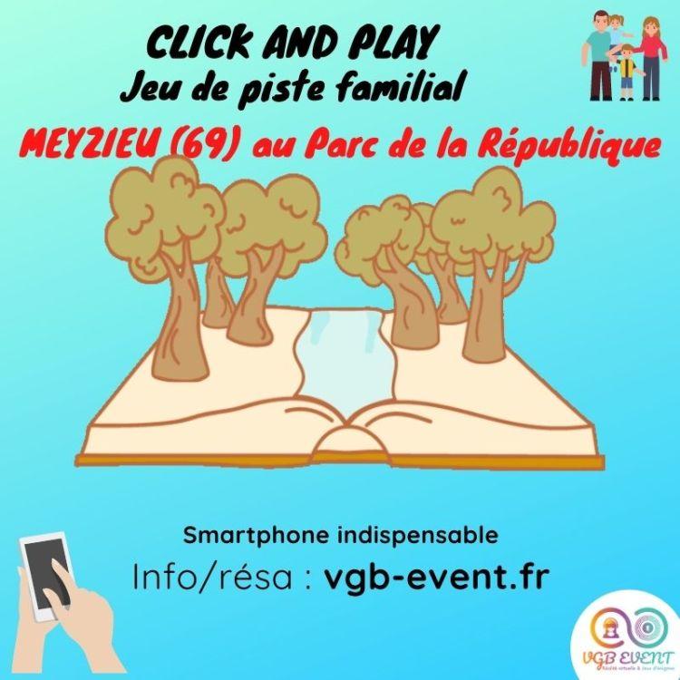 jeu de piste familial Click and play meyzieu parc de la république VGB EVENT-min
