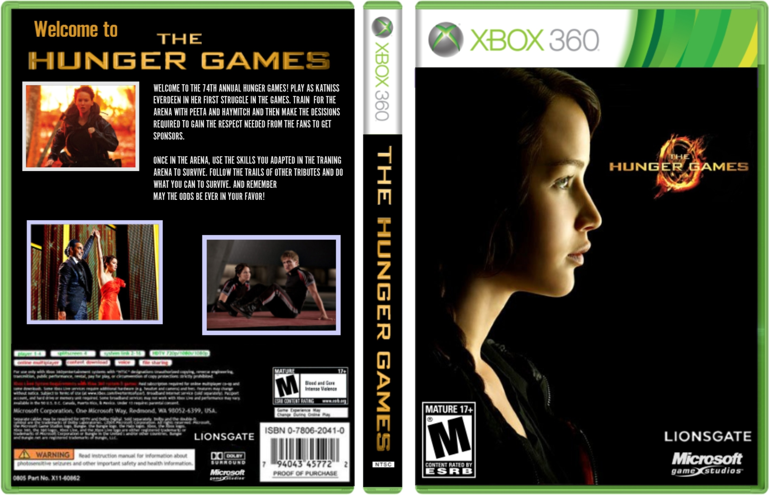 Hunger Games Game Xbox