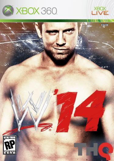 WWE 14 Xbox 360 Box Art Cover By KingMarMar