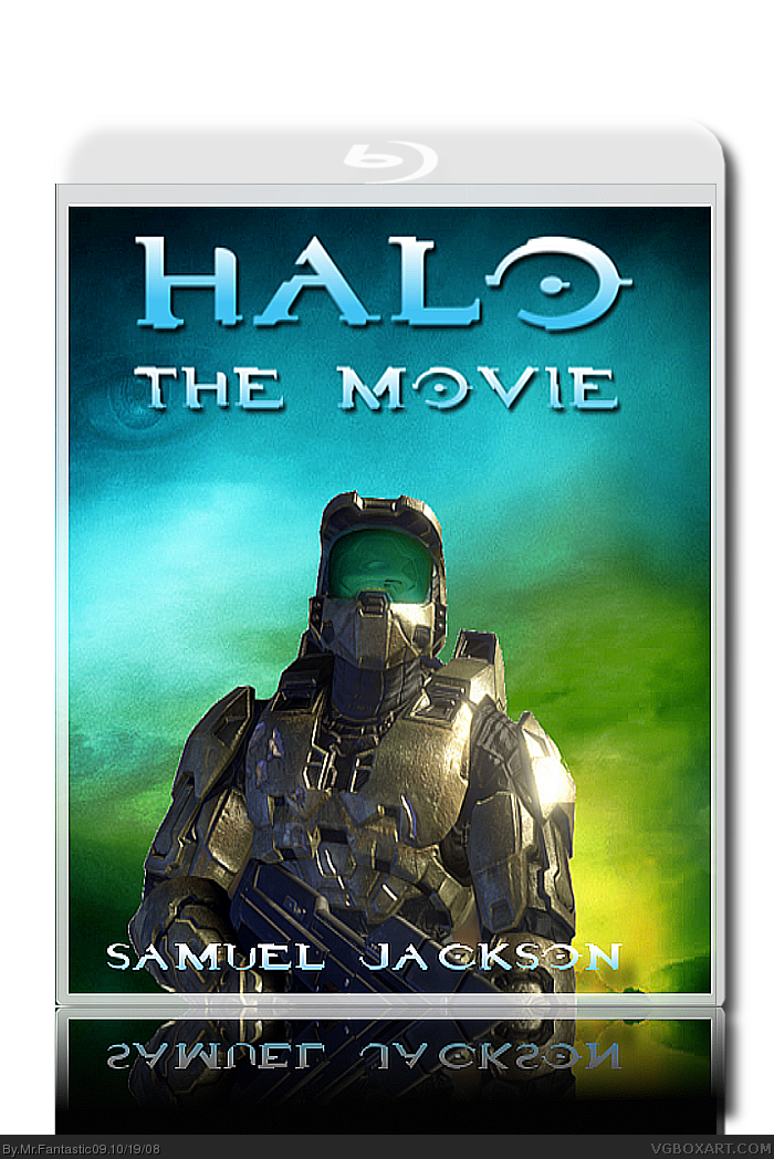 Halo The Movie Movies Box Art Cover By MrFantastic09