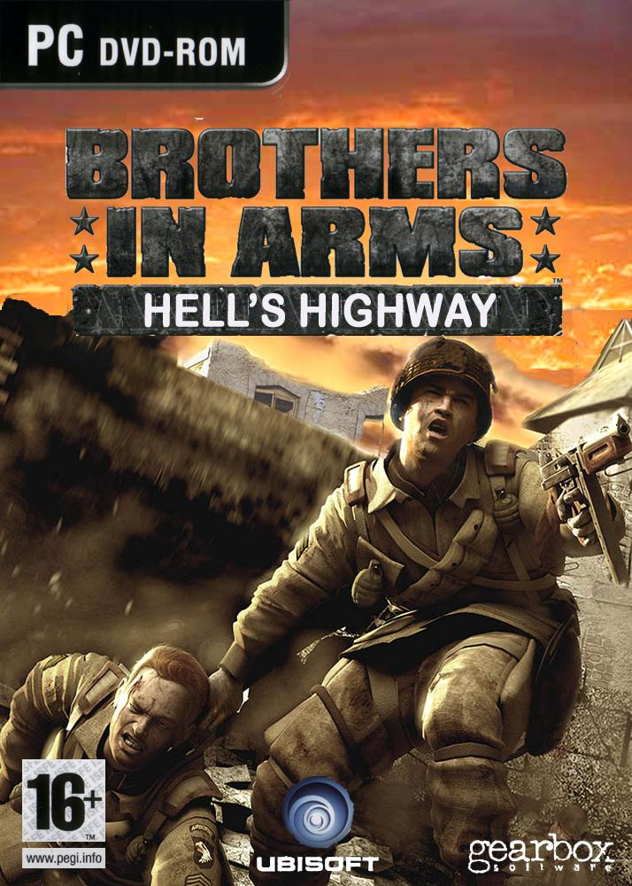 Brothers In Arms Hells Highway PC Box Art Cover By