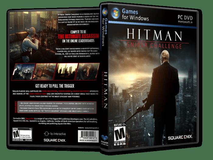 Hitman Sniper Challenge PC Box Art Cover By Payammazkouri