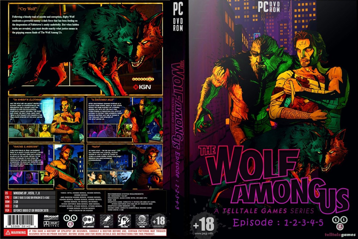 Image Result For The Wolf Among Us Apka