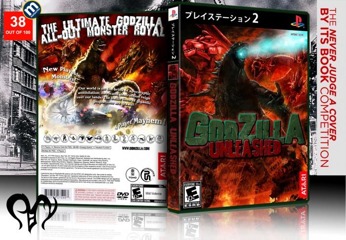 Godzilla Unleashed PlayStation 2 Box Art Cover By Pan