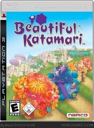 Beautiful Katamari PlayStation 3 Box Art Cover By Bear10100