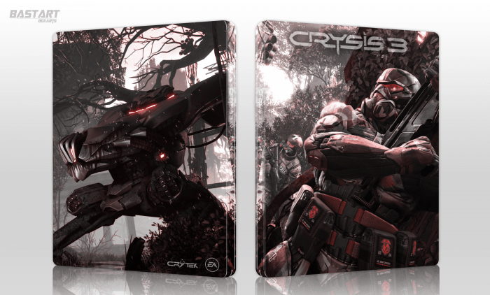 Crysis 3 PlayStation 3 Box Art Cover By Bastart