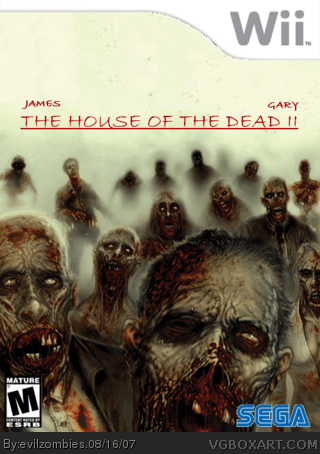 The House Of The Dead II Wii Box Art Cover By Evilzombies