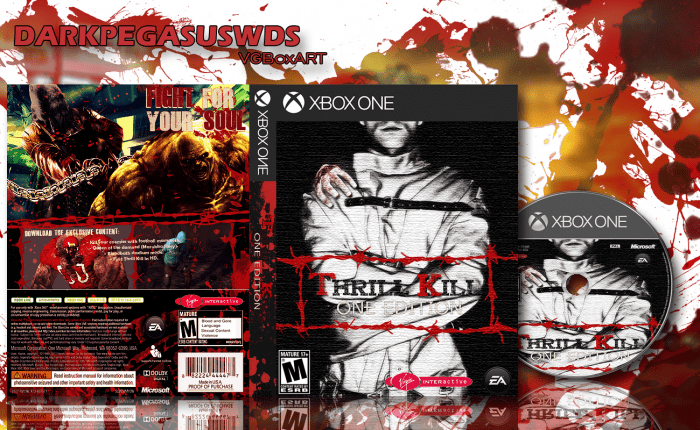 Thrill Kill One Edition Xbox One Box Art Cover By