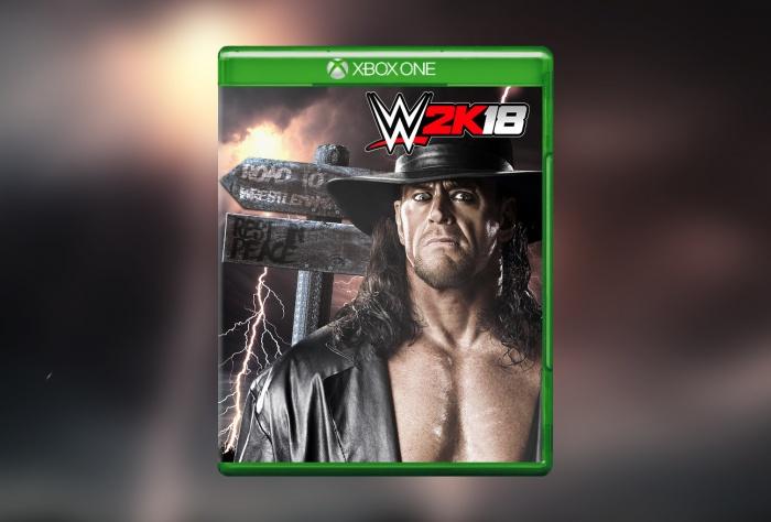 WWE 2K18 Xbox One Box Art Cover By Stefan Sderstrm