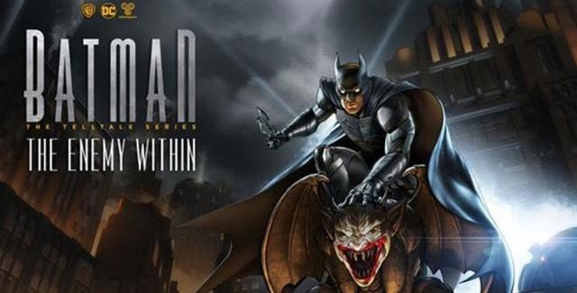 Batman – The Enemy Within: The Telltale Series ganha trailer de lançamento