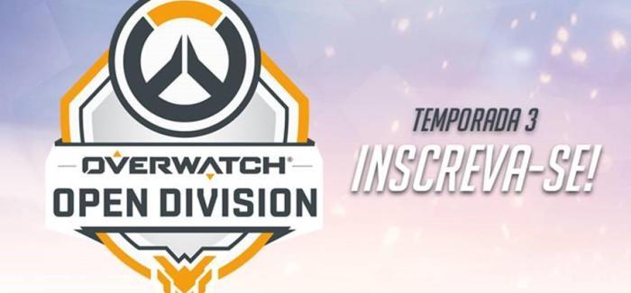 Vai começar o Overwatch Open Division Brasil