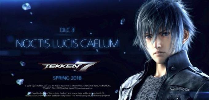 Tekken 7: Noctis de Final Fantasy XV é confirmado