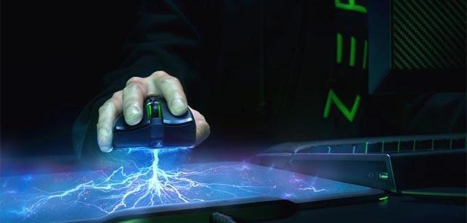 Razer Mamba HyperFlux é um novo mouse sem fio e sem bateria