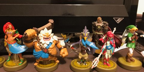 Breath of the Wild Champion amiibo