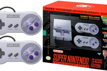 Super Nintendo Classic Back Up on Amazon