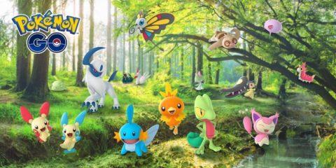Hoenn Pokemon Coming to Pokemon Go