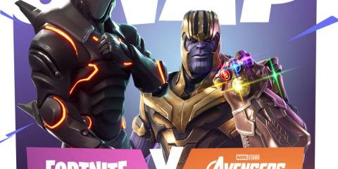 Fortnite and Marvel Infinity War Crossover
