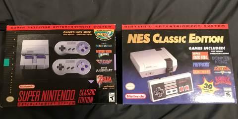 Nintendo Classic Consoles