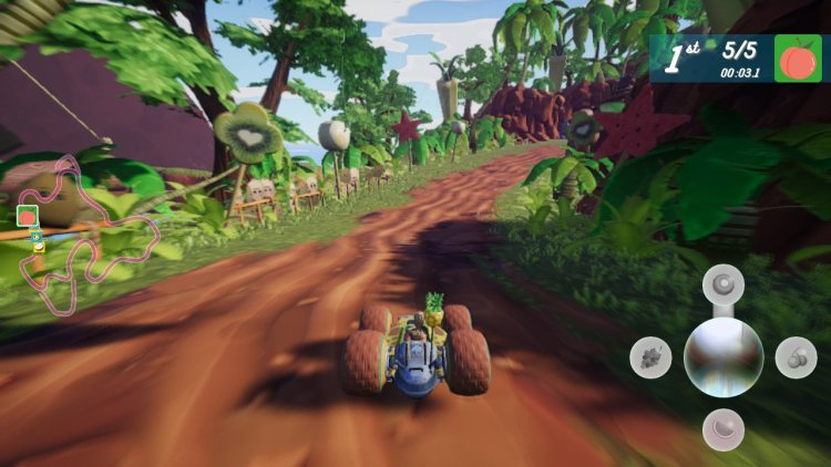 All Star Fruit Racing Review
