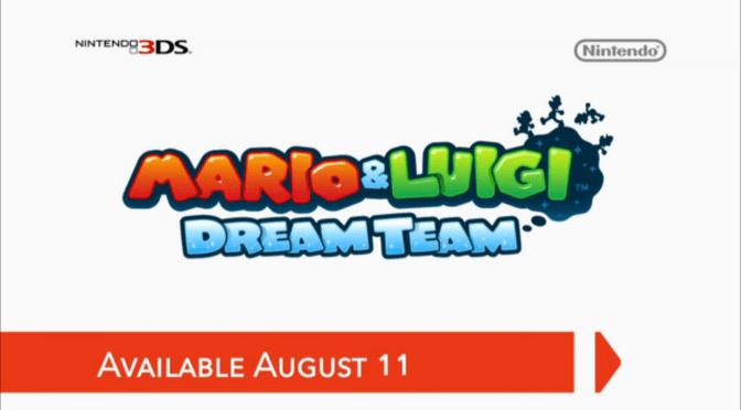 [Nintendo Direct] Mario & Luigi: Dream Team
