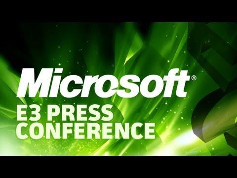 Conferencia de Microsoft en la E3 2013