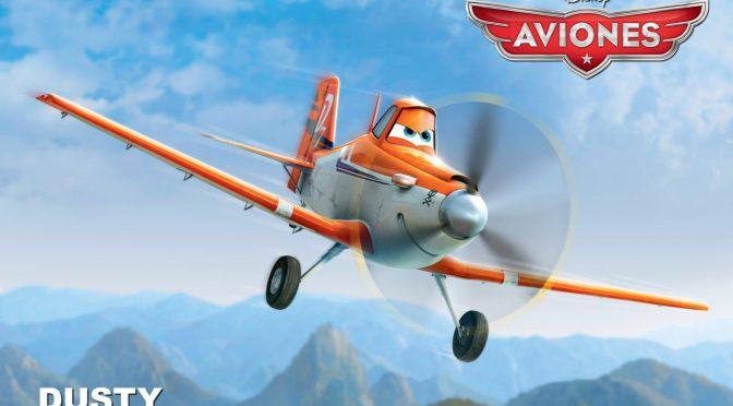 """Conozcan a los personajes de """"Aviones"""" de Disney"""