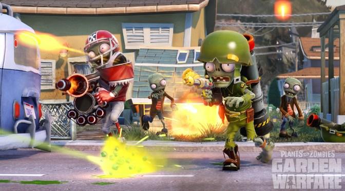 Conoce las clases de Zombies de Plants vs Zombies: Garden Warfare
