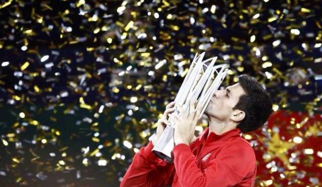 Djokovic conquista Shanghai, derrotando a Del Potro