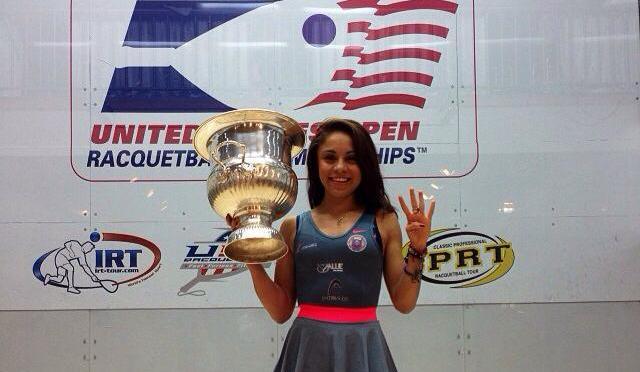 Paola Longoria campeona del US Open de Racquetbol 2013