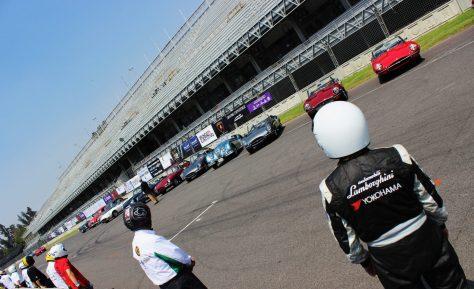Salida estilo Le Mans- Gran Premio Jaguar  Foto: Carlos Torres