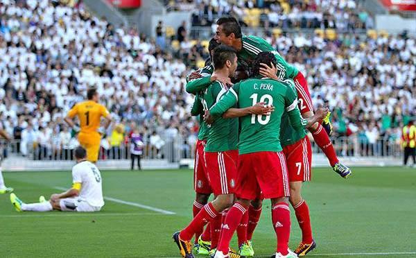 México con boleto a la Copa Mundial Brasil 2014