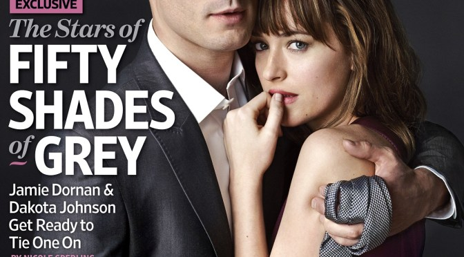 Primera imagen de Jamie Dornan y Dakota Johnson en 'Cincuenta Sombras de Grey'