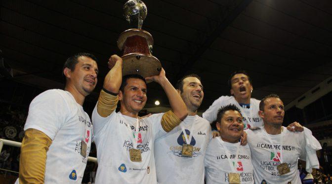 Pumas UNAM Campeón de Futbol Indoor