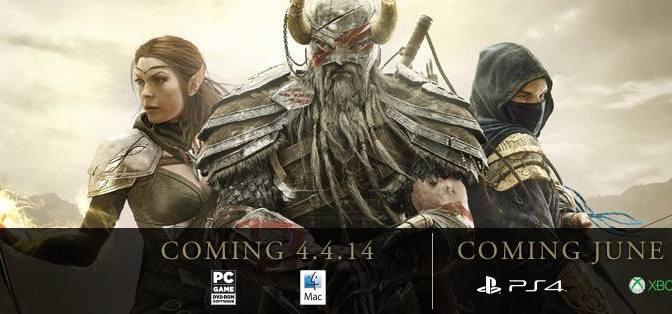 The Elder Scrolls Online Ya tiene fecha de lanzamiento