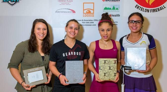 Paola Longoria ganó en Arlington y suma 26 torneos ganados consecutivamente en la LPRT