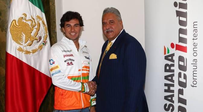 Sergio Pérez se une a Force India