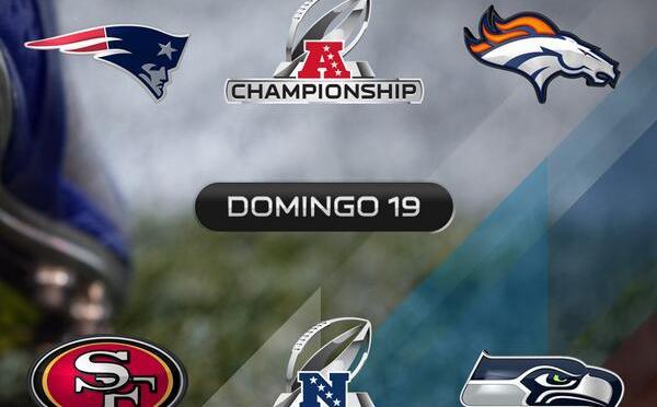 Preparadas las Finales de Conferencia en la NFL