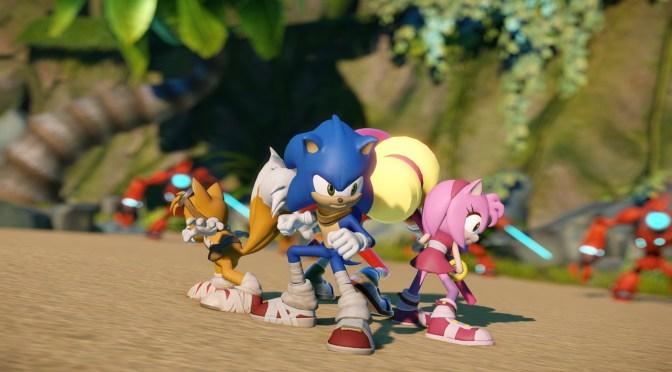 El primer avance y galería de Sonic Boom