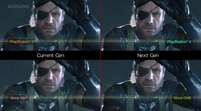 Metal Gear Solid V: Ground Zeroes y la comparación entre consolas