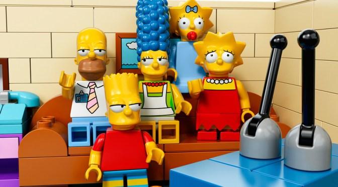 Los Simpson tendran episodio especial en formato Lego