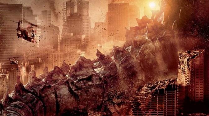 La cola de 'Godzilla' causa más destrucción en el nuevo póster