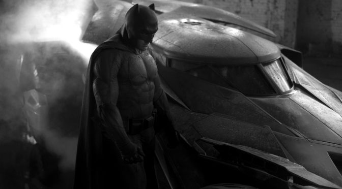 Así luce Batman y el Batimóvil de 'Batman vs Superman'