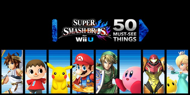 Resumen: Super Smash Bros for WiiU Direct: ¡50 Facts EXTRAVAGANZA!