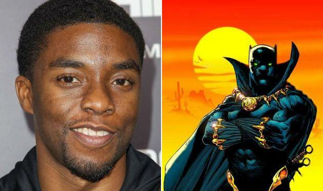 Chadwick Boseman será Black Panther